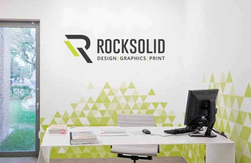 Rock Solid Graphics - Outstanding workplace graphics design