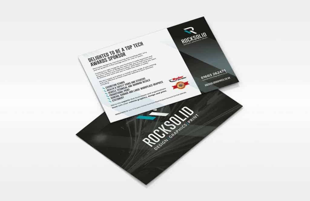Rock Solid Graphics - Outstanding marketing leaflets, flyers, brochures and printed products
