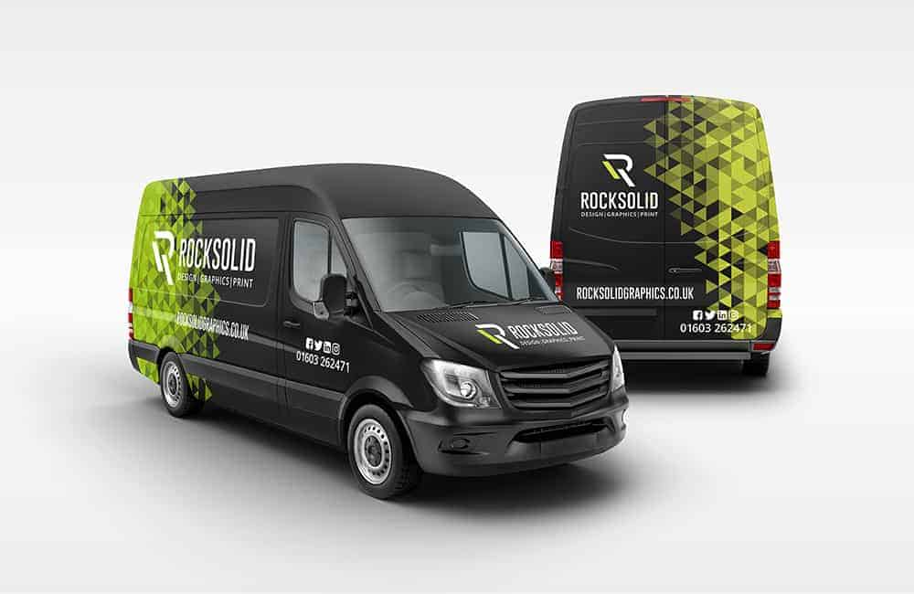 Outstanding vehicle graphic design