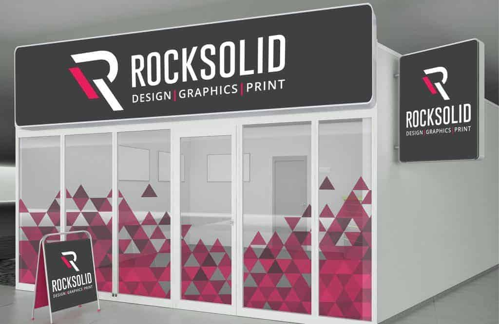 Rock Solid Graphics - Outstanding workplace graphics and signage
